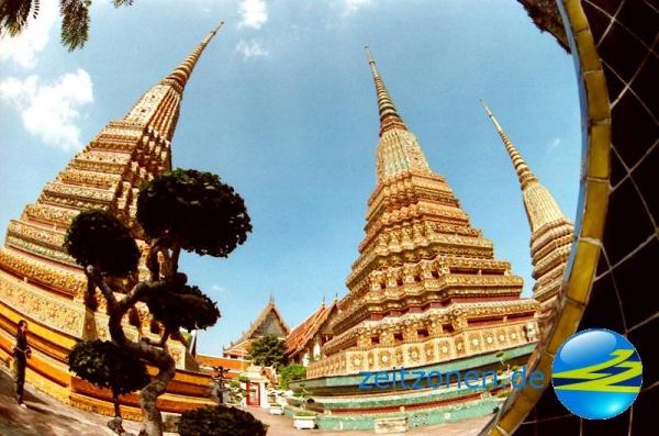 Zeitzonen Thailand