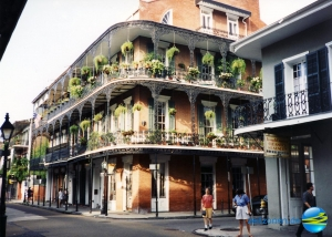 French Quarter in New Orleans